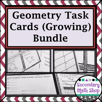 Task Cards (Growing) Bundle - Save Money!!!