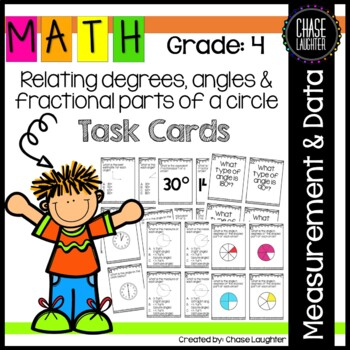 Geometry: Task Cards {Math Center} 4.MD.5