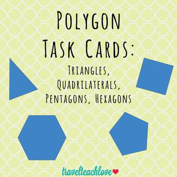 Geometry Task Cards: Polygons