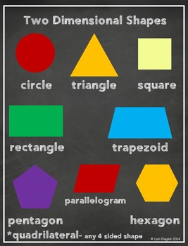 Geometry Task Cards & QR Codes for 2nd Grade Common Core