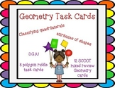 Geometry Task Cards: Quadrilaterals and Polygons