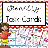 Geometry Task Cards TEKS 3.6A & 3.6B