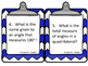 Geometry Task Cards for Grades 4-6