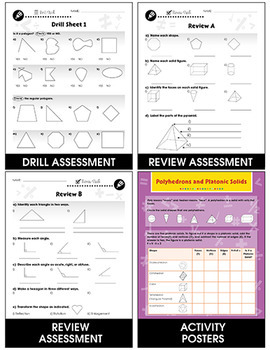 Geometry - Task & Drill Sheets Gr. 3-5