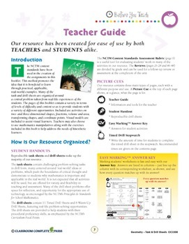 Geometry - Task & Drill Sheets Gr. 3-5 - Canadian Content