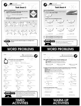 Geometry - Task & Drill Sheets Gr. 6-8