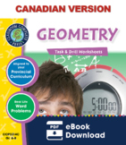 Geometry - Task & Drill Sheets Gr. 6-8 - Canadian Content