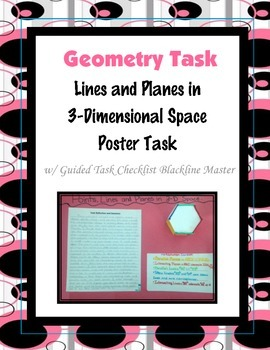 Geometry Task (Project): Lines and Planes in 3-D Space (2) Poster