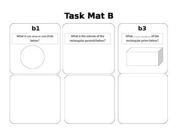 Geometry Task Mats