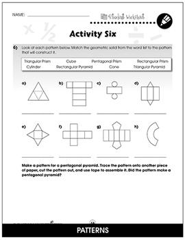 Geometry - Task Sheets Gr. 3-5 - BONUS WORKSHEETS