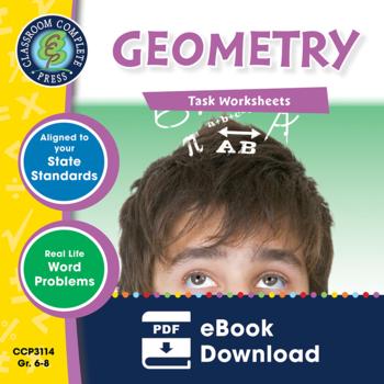 Geometry - Task Sheets Gr. 6-8