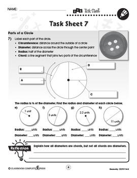 Geometry - Task Sheets Vol. 3 Gr. 6-8