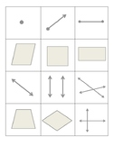 Geometry Term Memory (matching, concentration)