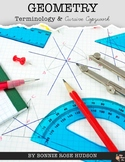 Geometry Terminology & Cursive Copywork