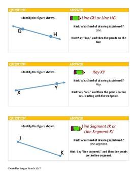 Geometry Terminology Practice