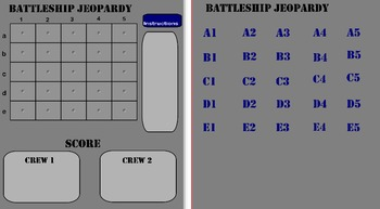 Geometry Terms Battleship Review Game