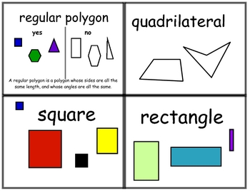 Geometry Terms Flash Cards