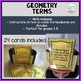 Geometry Terms - Headbands Game