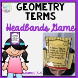 Geometry Terms - Headbands Game