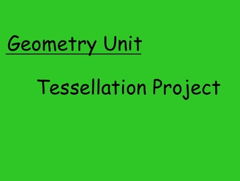 Geometry Tessellation Project
