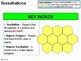 Geometry: Tessellations 1 - Regular and Semi Regular Polygons (+ resources)