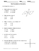 Geometry Test: Foundations of Geometry