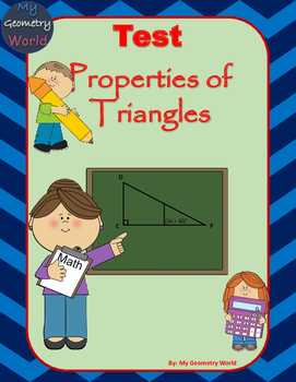 Geometry Test: Properties of Triangles