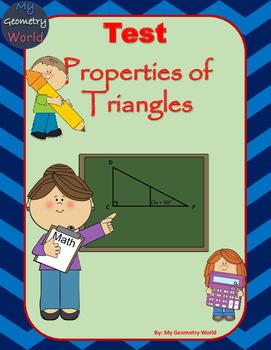 Geometry Test: Properties of Triangles