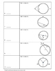 Geometry Test Review: Circles