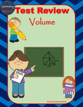 Geometry Test Review: Volume