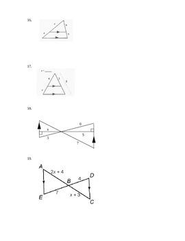 Geometry Test - Similarity