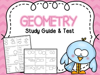 Geometry Test & Study Guide