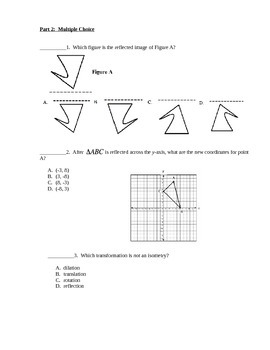 Geometry Test - Transformations