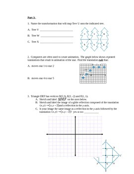 Geometry Test - Transformations