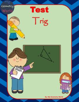 Geometry Test: Trig Ratios