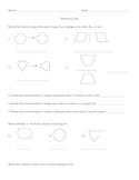 Geometry Test (lines, angles, polygons, etc.)