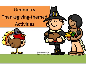 Geometry Thanksgiving-Themed Activities