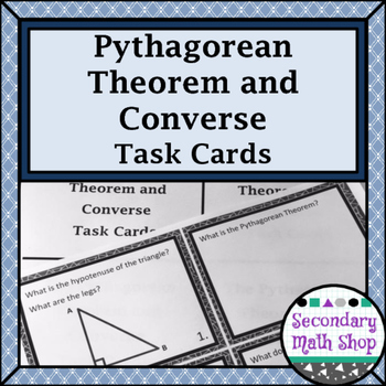 Right Triangles - The Pythagorean Theorem and Its Converse ...