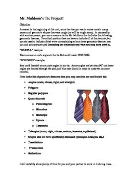 Geometry Tie Project