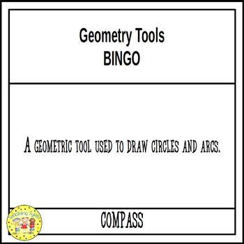Geometry Tools BINGO
