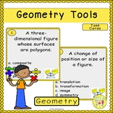 Geometry Tools Task Cards
