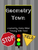 Geometry Town with Handout