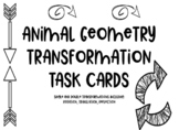Geometry Transformation Task Cards