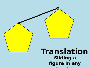 Geometry Transformation - flips slides and rotations