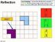 Geometry: Transformations 2 - Reflection / Symmetry (+ worksheet)