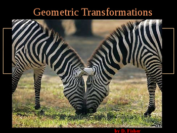Geometry:  Transformations Activity
