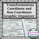 Transformations Coordinate Plane & Non Graphic Org. /Reference