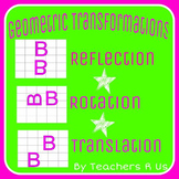 Geometry Transformations (Reflection, Rotation, Translation) Set 2