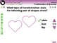 Geometry: Transformations & Symmetry - Practice the Skill 1 - PC Gr. PK-2