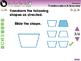 Geometry: Transformations & Symmetry - Practice the Skill 2 - MAC Gr. PK-2